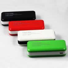 New Portable PVC/ Silicone mobile power bank/mobile power supply 5600mah Customized packing