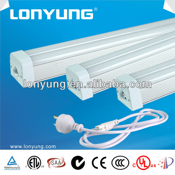 etl 6500k T5 LED tube integrated housing 15w 25w 30w 36w 60w