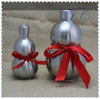 Traditional 18OZ stainless steel gourd hip flask / Drink wine for gift&promotion