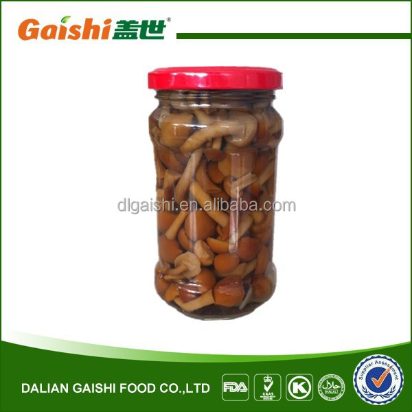 Gaishi Brand Best Marinated Canned Nameko Mushroom for Japan