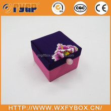 high quality display fabric square sewing storage box wholesale
