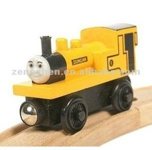 Wooden Thomas toy train for kids