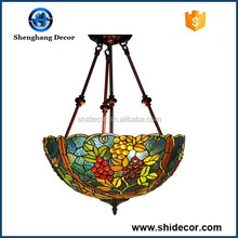 Tiffany style Hanging Lamp luxury lamp colored glass ceiling lamp pendant lights