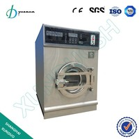 20kg electric heating coin operated washing machine