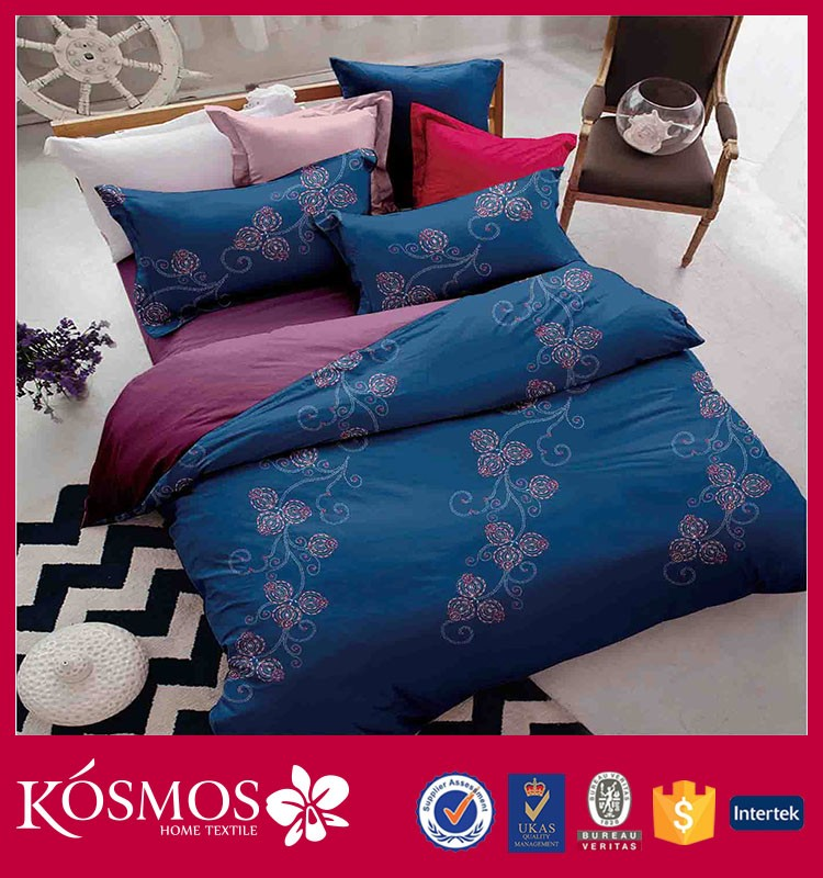 latest home classical textile design microfiber printed bed sheets pictures luxury bedding set
