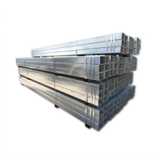china factory high quality ASTM GR B square hot dipped Galvanized Square tube