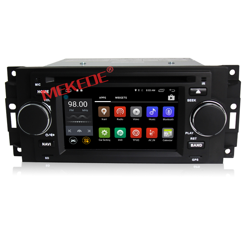 6.2inch Lcd Screen Android7.1 system Car DVD player for Chrysler 300C with Gps Navi,3G,Wifi,Bluetooth,Ipod