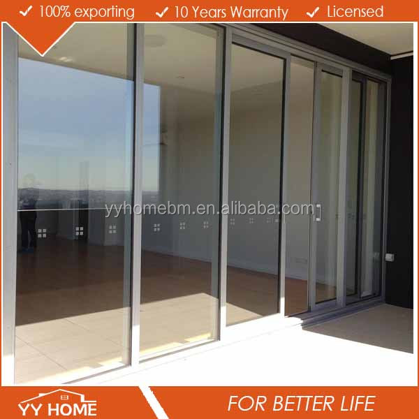 Aluminum double glazing modern house residential sliding for Cheap double glazing
