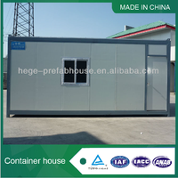 Prefabricated kitchen container house