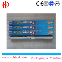 Raw materials of household aluminium foil roll for restaurants food preservatives