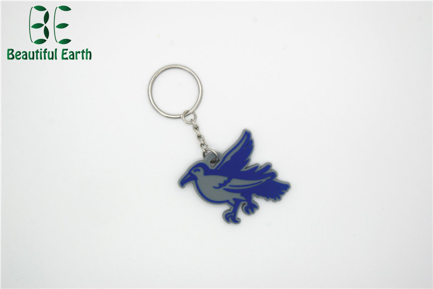 High quality custom design promotion pvc keychain