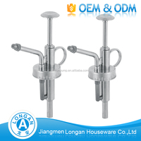 Factory wholesale polished 1cc / 2cc ABS Plastic washing hand liquid soap dispenser pump