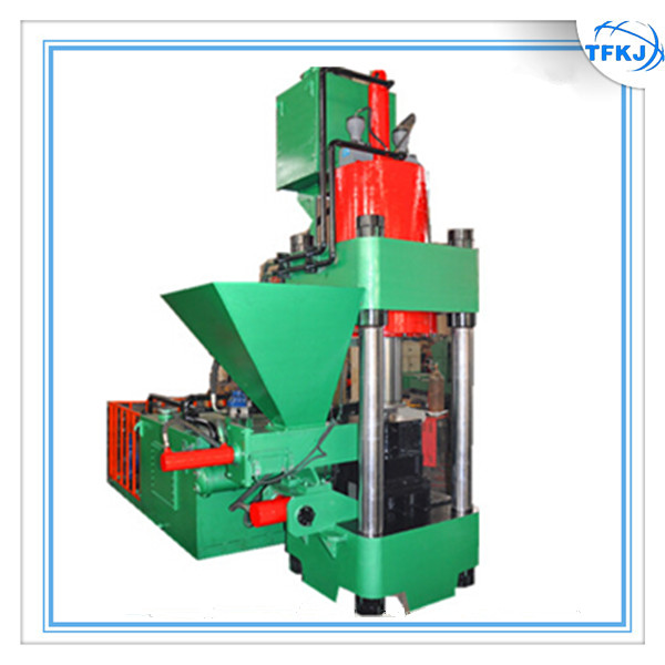 Y83-4000 CE standard stock automatic hydraulic metal chip sawdust briquetting machine (Factory price)
