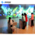 Indoor soft playground 3D games interactive magic wall projection