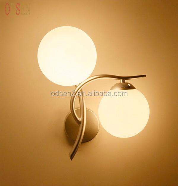 Modern Glass Wall Lamp Living Room/bedroom/hotel Wall Night Lamp ...