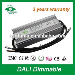 60w 80w 100w 150w 200w constant voltage 12v 24v ip67 dali dim led driver