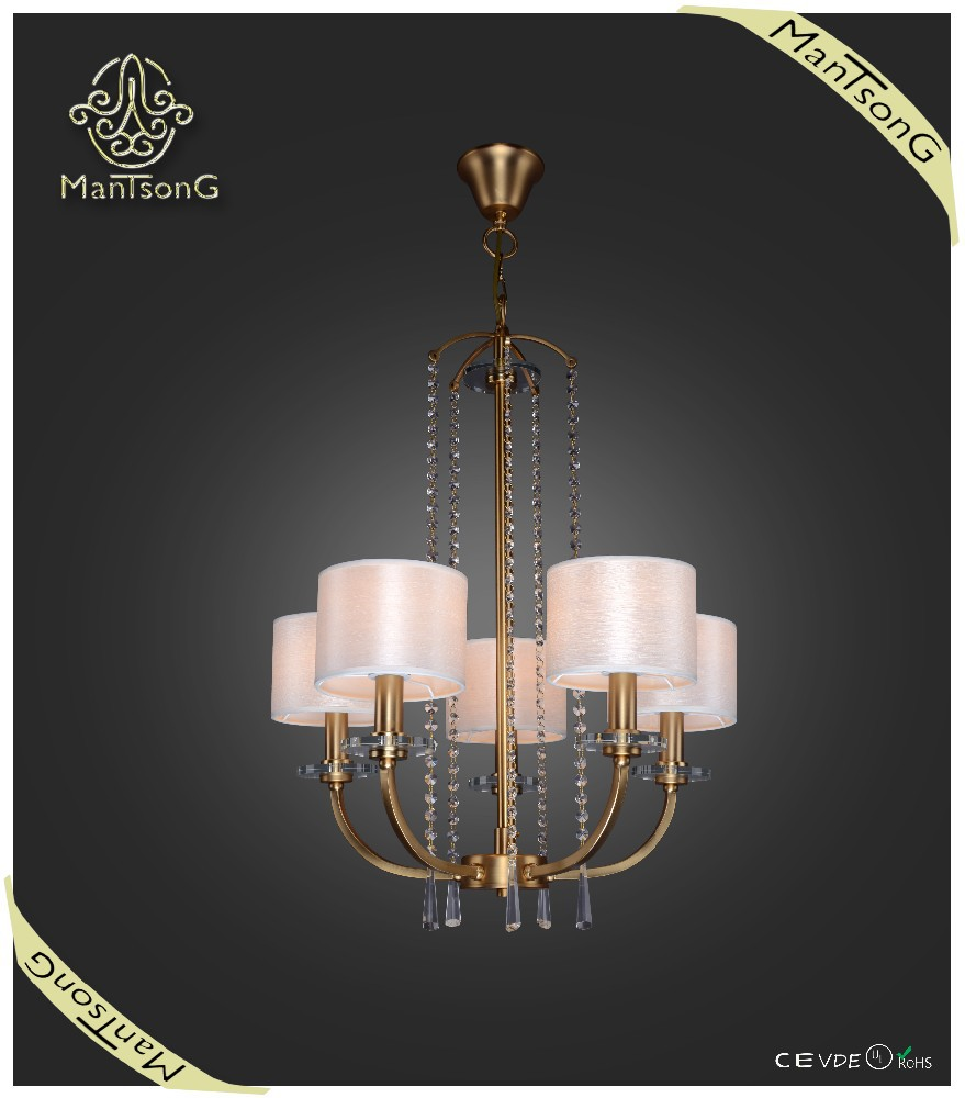 2015 New Products Indoor Lighting Fabric Shades Classic