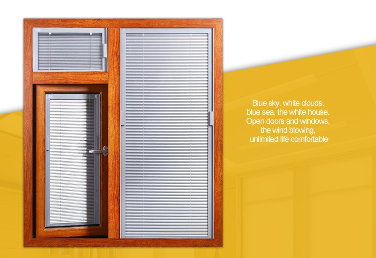 Hot sale windows and doors aluminium modern grill design casement window