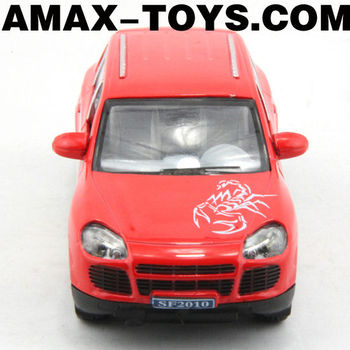 DC-0681084 1:32 diecast car Emulational Pull Back Die Cast Car Model with Music and Lights (doors can be opened)