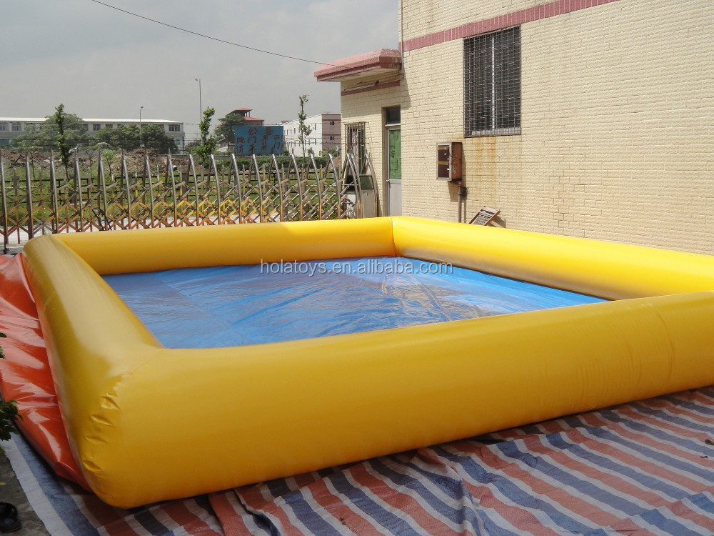 HOLA Cheap inflatable pool rental/inflatable pvc swimming pool with water ball