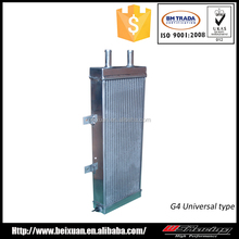 High performance universal cheap small aluminum Auto car radiator with tube fin for sale