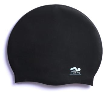 2019 hot selling Silicone or Latex Swimming caps for adults and older teens