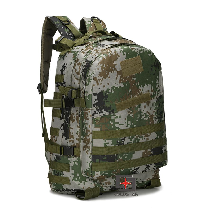 Green Multi-function 3D camouflage Tactical 40L Waterproof men's Outdoor backpack school bag Outdoor hiking travel bag Backpack