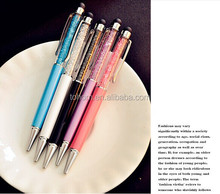 Hot selling Good price El cristal suma Crystal ball pen crystal stylus pen fashion crystal touch pen