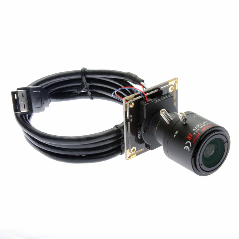2.8-12MM Varifocal Lens Free driver 100fps Omnivision 2710 CMOS auto focus 2mp USB camera module