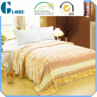 polyester king size home bedding thermal blanket
