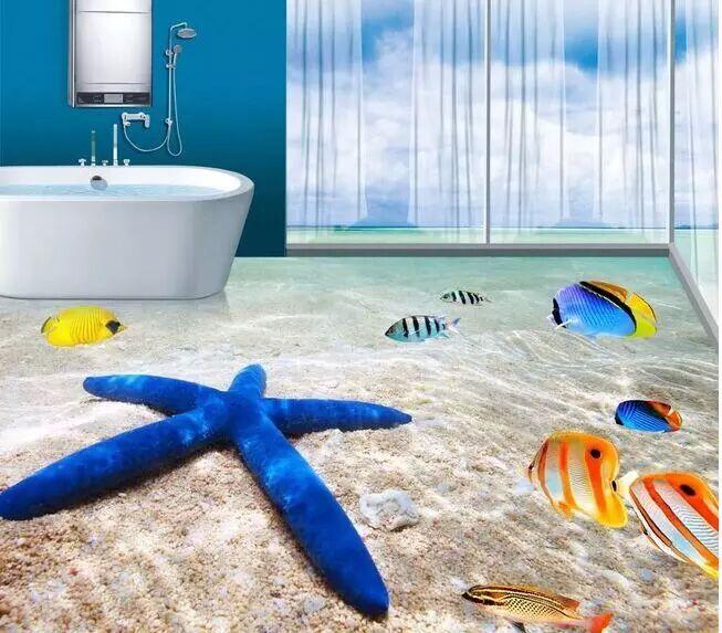 China Sea Picture Kajaria Floor Tile Price 3d Flooring Supplies For Sale Buy 3d Flooring