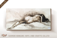 Sexy Nude Girl Art Paintings Beautiful Woman Nude Oil Painting Canvas