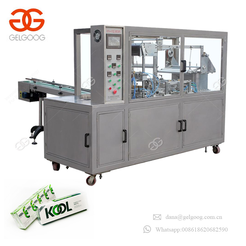 Hot sale Commodity DVD Packaging Equipment Food Packing Machinery Automatic Gift Wrapping Machine