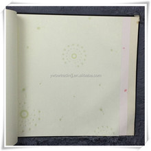 2015 make in china promotion custom soundproof wallpaper pattern paper for home decor