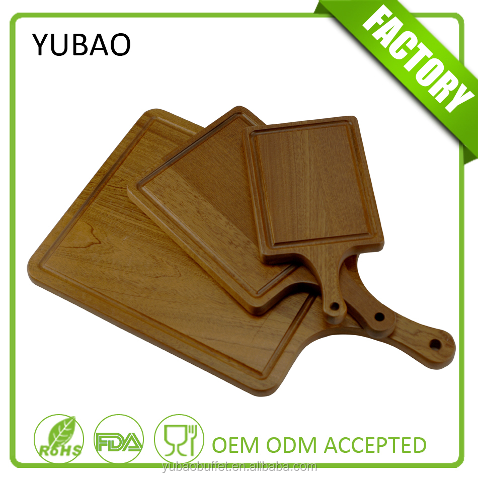 Wholesale wooden dinner plates for restaurants, rectangular wood sushi food plate for sale, disposable wood dinner plates