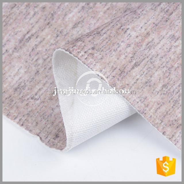 JJ5033 2018 New design 100% polyester holland velvet printed fabric simple style latest sofa fabric