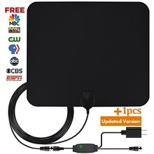 Best selling High Gain Digital HD TV Indoor HDTV Antenna 50 Mile Range With Amplifier Signal Booster