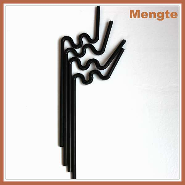 Top Quality bagged lovely shaped plastic artistic drinking straws