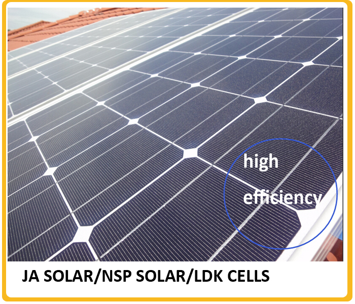 High efficiency A grade 60 cells 250w pv solar panel broken solar cells hot sale in China