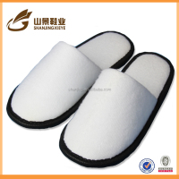 white velvet hotel slipper wholesale factory