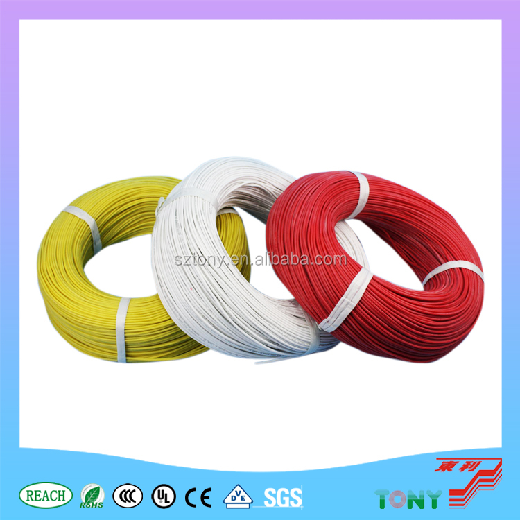 UL3135 High Temperature Resistant Electric Silicone Rubber Insulated copper wire