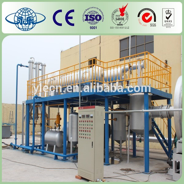 waste Tire distillation Plant To Diesel diesel