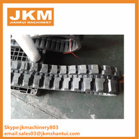rubber track with the size 550x90x56 rubber tracks for machinery