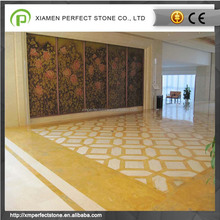 China Yellow Siena Marble Decorative For flooring & Wall