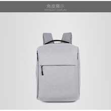 Factory Custom Durable Black PVC Material Outdoor Business Backpack Bag