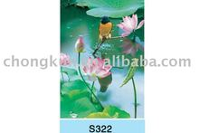 3D water lily art photo