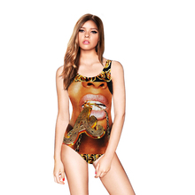 Wholesale Digital print Cheap Pretty Sexy One Piece Monokini Swimsuits For Women