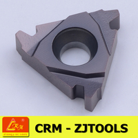 crm zjtools Daoqin fengyi indexable carbide ACME threaded insert cutting tools