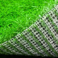 Top level professional artificial pet grass green color