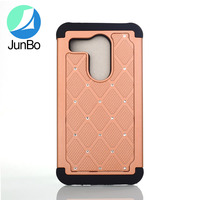 Newest Combo 2 in 1 Mobile Phone Cases Damond Bling Case for LG Nexus 5X